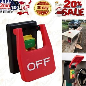 Safety Paddle 110//220V Switch Electrical Box Power Tools Table Saw Garage Works