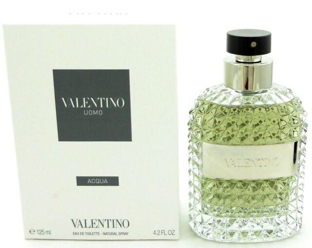 Valentino Uomo ACQUA Cologne 4.2 oz.EDT Spray for Men Tester with Cap.Never used
