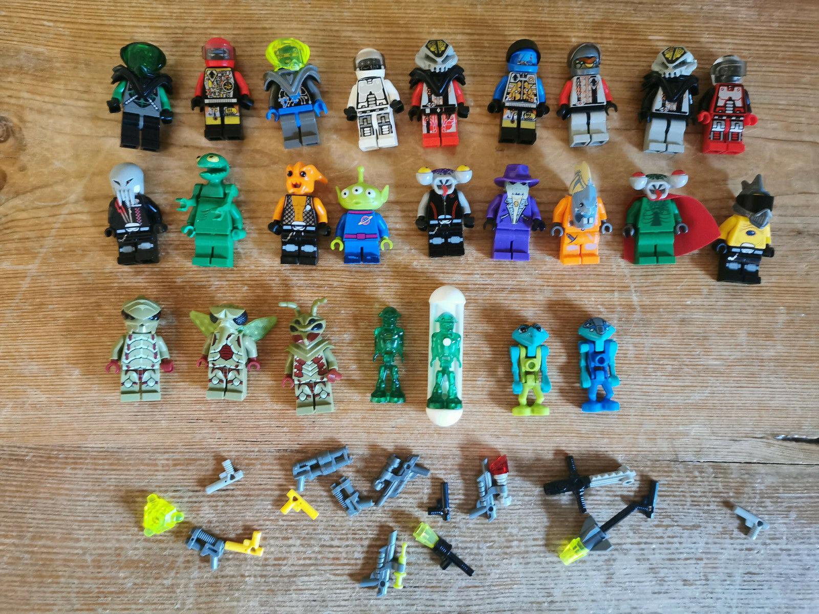 LEGO  25 Figures  AUSSERIRDISCHE   ALIENS   INSECTOIDS