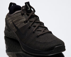 ed5af23b074 Nike Metcon DSX Flyknit 2 Men New Dark Stucco Black Training Shoes ...