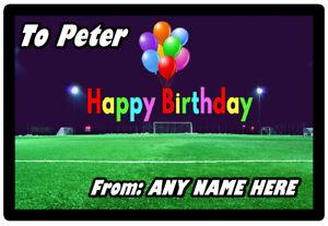 Fussball Personalisiert Alles Gute Zum Geburtstag Neuheit