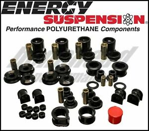 Energy Suspension 7.18105R Complete Master Bushing Kit for 90-96 Nissan 300ZX
