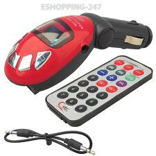 Coche reproductor de Mp3 Modulador Fm Transmisor De Radio Usb Lector de tarjetas de ranura Inalámbrico a057