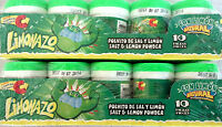Jovy Limonazo Mexican Candy Salt & Lemon Powder 2 Boxes 10 Ct Ea