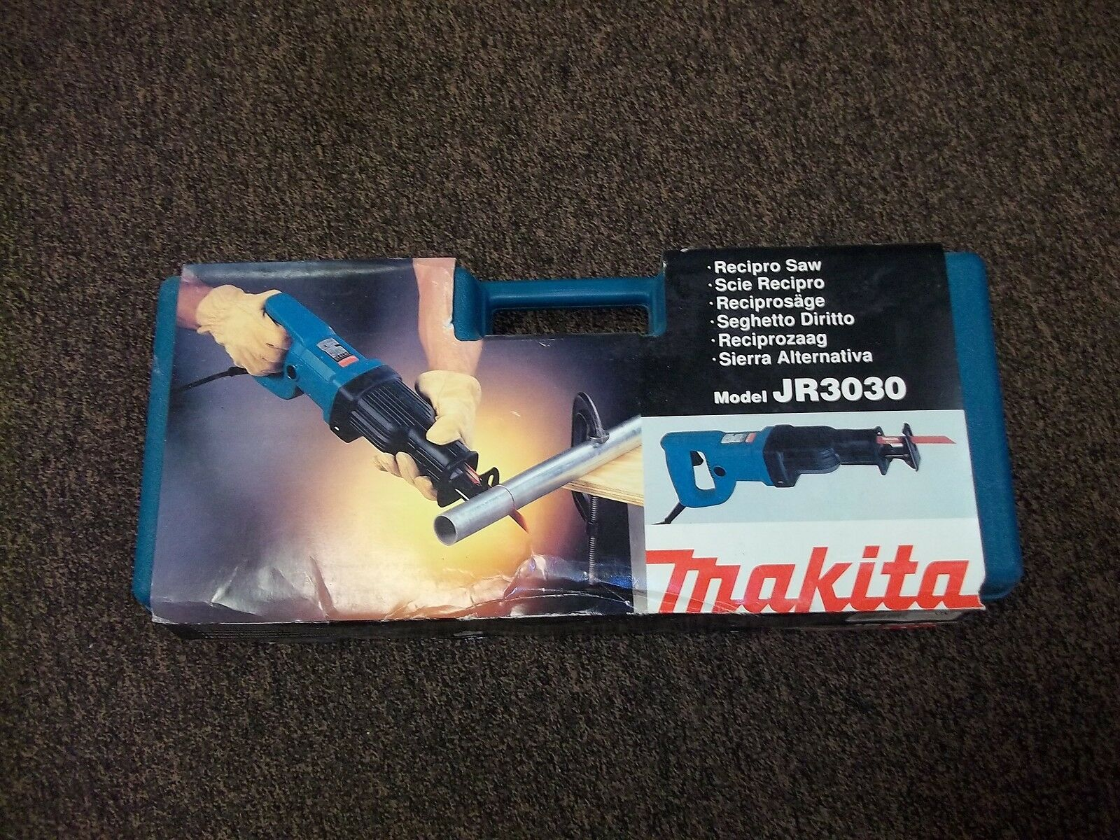 Makita Reciprocating Saw -Model JR3030 Orbital Corded Reciprocating Saw