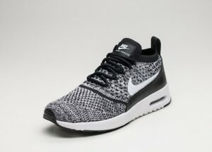 8c4831396e14f WOMENS NIKE AIR MAX THEA ULTRA FLYKNIT TRAINERS - UK SIZE 5 - BLACK ...