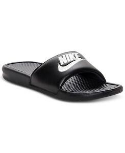 f920939e34c4 Image is loading Nike-BENASSI-JDI-Mens-Black-White-343880-090-