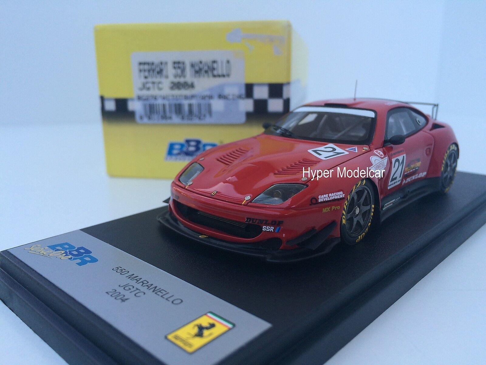 BBR modellllerler 1  43 Ferrari 550 Maranello JGTC Hitosumyama tävlings 2004 konst.Bg276