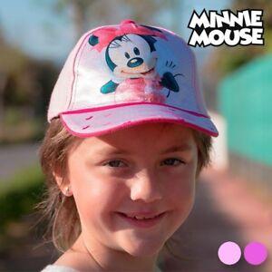 Casquette-a-image-de-Minnie-Mouse-Couleur-Violet