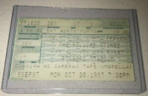 10-20-97-MTV-VHI-The-Rolling-Stones-Tix-Ticket-Stub-Foxboro-Boston-Massachusetts