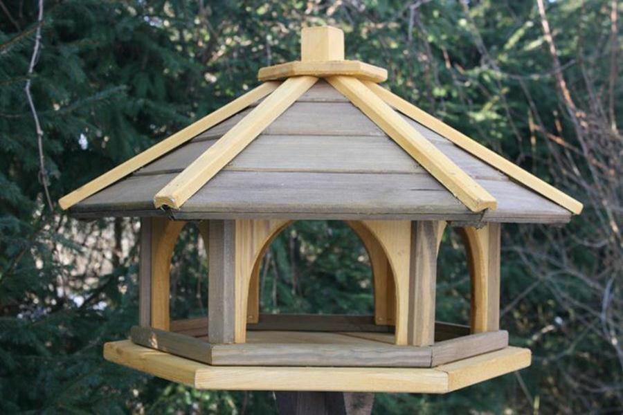 VOGELHAUS VOGELHAUS VOGELHAUS aus HOLZ Vogelhäuschen Vogelhäuser Vogelfutterhaus L | Tragen-wider  | Meistverkaufte weltweit  | Modern Und Elegant In Der Mode  529576