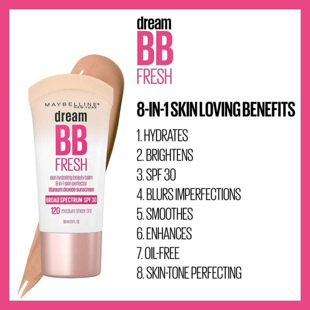 Maybelline Dream Fresh Beauty Balm Cream 8 In 1 Apricot 30ml For Sale Online Ebay