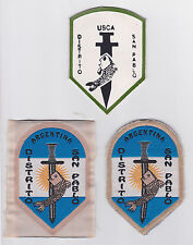 UNION SCOUTS CATOLICOS ARGENTINOS - ARGENTINA DISTRITO SAN PABLO SCOUT PATCH 3 V