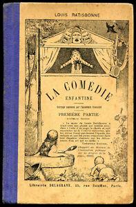 Scolaire-Louis-Ratisbonne-LA-COMEDIE-ENFANTINE-1ere-partie-1930