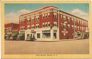 Image Is Loading Hotel Raeford In Nc Postcard