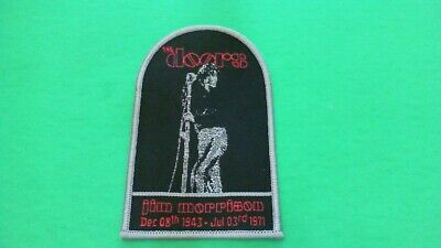 BRAND NEW RAINBOW LOGO MUSIC 4947 THE DOORS EMBROIDERED PATCH