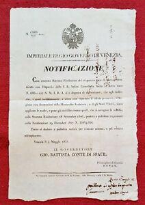 6521-LOMBARDO-VENETO-VENEZIA-ZEVIO-ABUSO-DI-USO-DI-DECORAZIONI-AUTRIACHE-1835