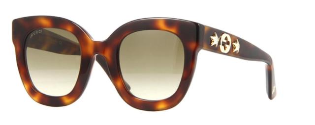 4d4f4e1f62e Gucci Brown Gradient Square Sunglasses Gg0208s 003 49 for sale ...