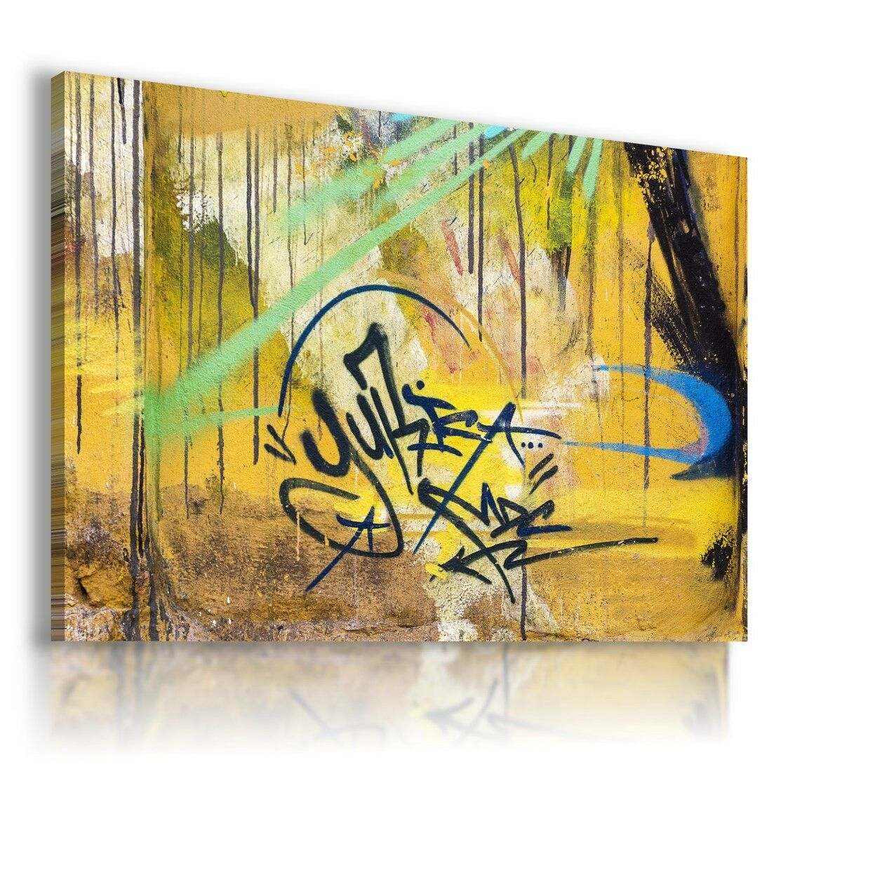 MODERN PATTERN ABSTRACT PAINT CANVAS WALL ART PICTURE LARGE WS118 X