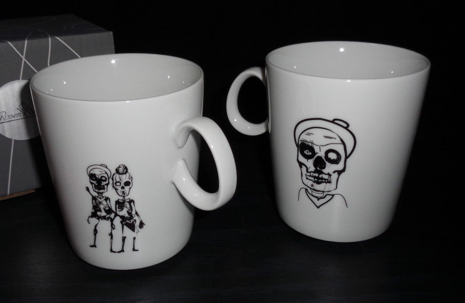 pinknthal Nendoo Halloween 2 x Becher mit Henkel   Kaffeebecher Neu Motiv   4
