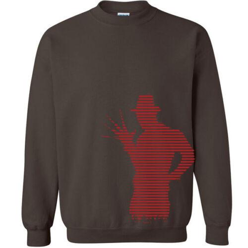 260 Freddy Body Crew Sweatshirt horror scary movie street nightmare halloween