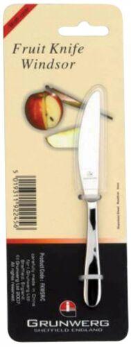 Grunwerg Windsor Fruit /& Peeling Couteau en Acier Inoxydable-Free p/&p