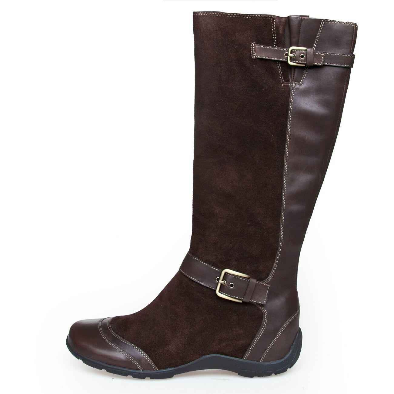 Dr. scholl Islington f231131019 zapatos señora zapatos señora botas marrón de cuero