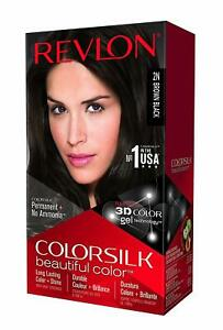 New-Revlon-Hair-Color-With-3D-Color-Technology-Brown-Black-2N-Free-Ship