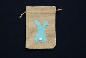 Hand-made-Rabbit-Bunny-Hessian-Gift-Bags-100-CHARITY