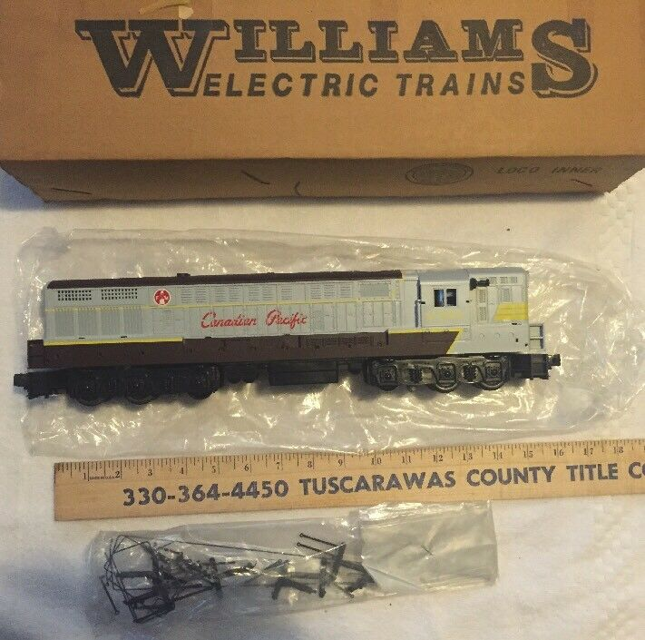 Vintage Williams Canadian Pacific Trainmaster F7 DIESEl GG-1 2371  LIONEL MTH