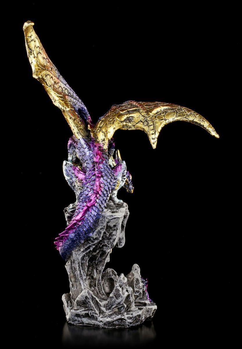Dragones Figura Der Guarda - Spire Keeper - - - Fantasía Gótica Burg Castillo 15857e
