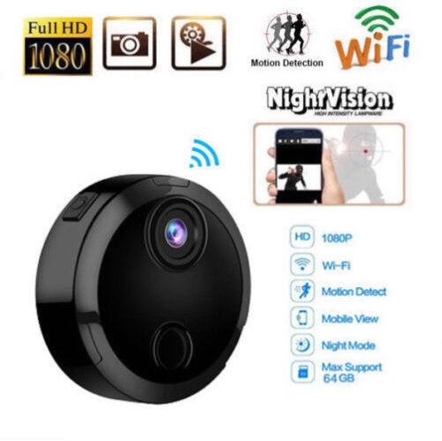 Mini Camera HD 1080P Home Spy Hidden Camera Wireless Motion Detect Night Vision