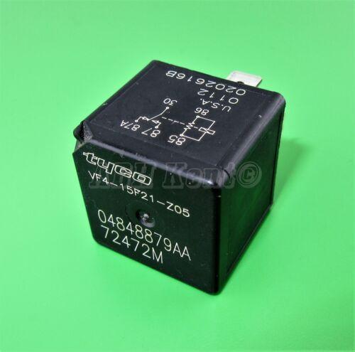 472-chrysler jeep dodge 5 broches multi-usage noir relais tyco 04848879AA 72472M usa