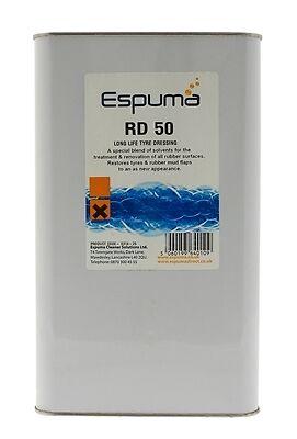 Espuma 0314-05 RD50 Long Life Tyre Dressing (5Ltr) New