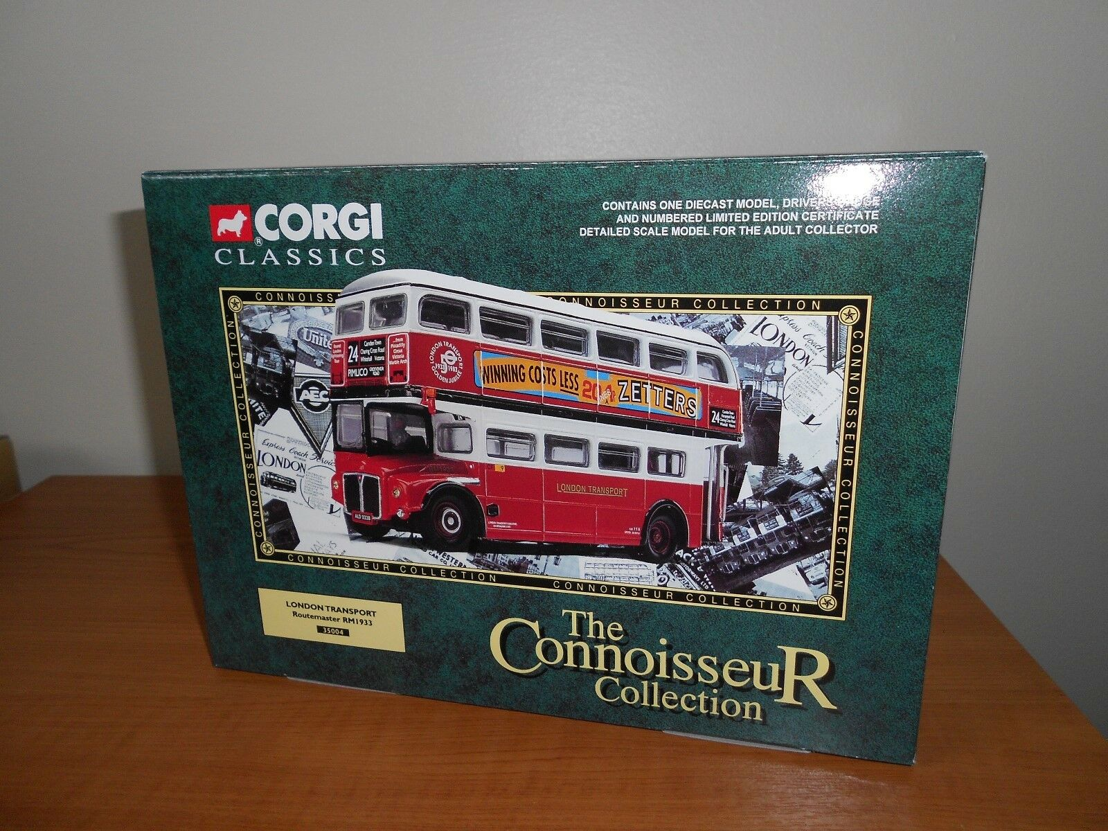 CORGI 35004  London Transport  Routemaster RM1933