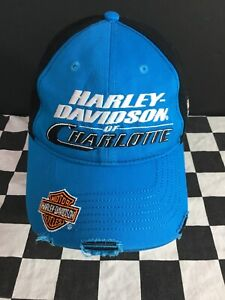 Harley Davidson Of Charlotte >> Details About Harley Davidson Of Charlotte Carolina Panthers Colors Adjustable Cap Hat