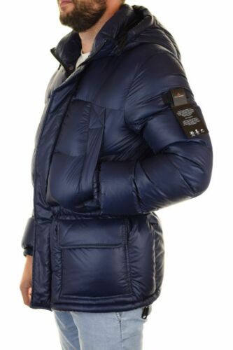 Peuterey Valder down Jacket Parka in Nylon Ripstop PEU2639 01181371 215 Blue