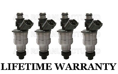 SET OF 4 DENSO FUEL INJECTOR 195500-2040 FITS MAZDA//KIA 1.6L 1.8L L4