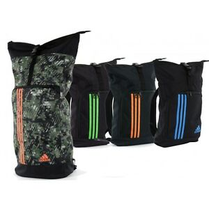 e6651ef580 adidas Roll Top Military Training Bag Sack Backpack adidas Martial ...