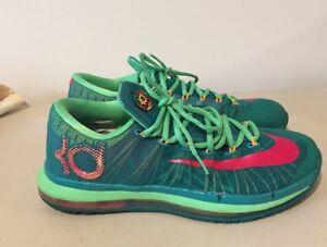 84c5cf8e6e8 Nike Men KD Basketball Shoes Sneakers 9 Elite Hero Turbo Green ...