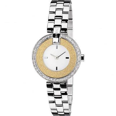 Orologio Donna Breil Breilogy Tw1444 Bracciale Acciaio Gold Dorato Swarovski Fiv 7612901622453 Ebay