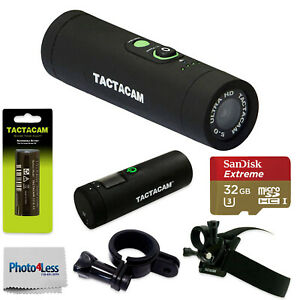 Tactacam-5-0-Wide-Camera-Includes-Remote-Control-Battery-2-Mounts-amp-32GB-Card