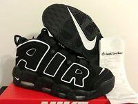 2016 Nike Air More Uptempo Black White 414962-002 DS Pippen Size 4Y-15 GS MEN