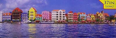 Jigsaw puzzle International Willemstad Harbor Curacao 750 piece NEW