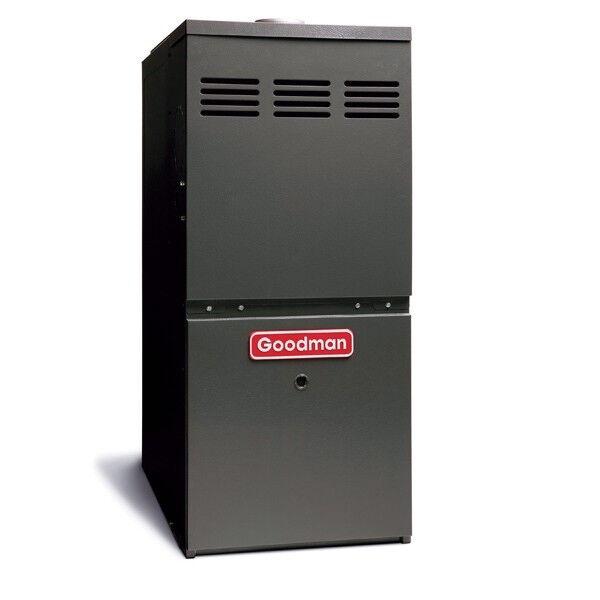 Goodman 3 to 5 Ton 100,000 BTU Gas Furnace UpFlow Horizontal Flow GMS81005CN