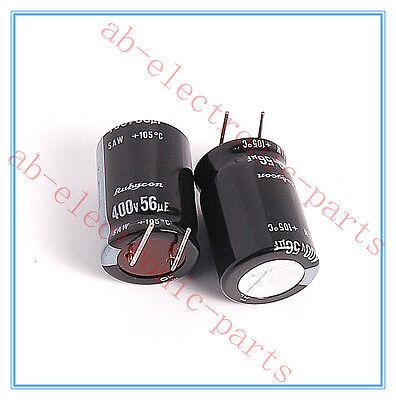 4pcs- 3.3uf 400v Radial Electrolytic Capacitor 400v3.3uf Rubycon 125℃ best