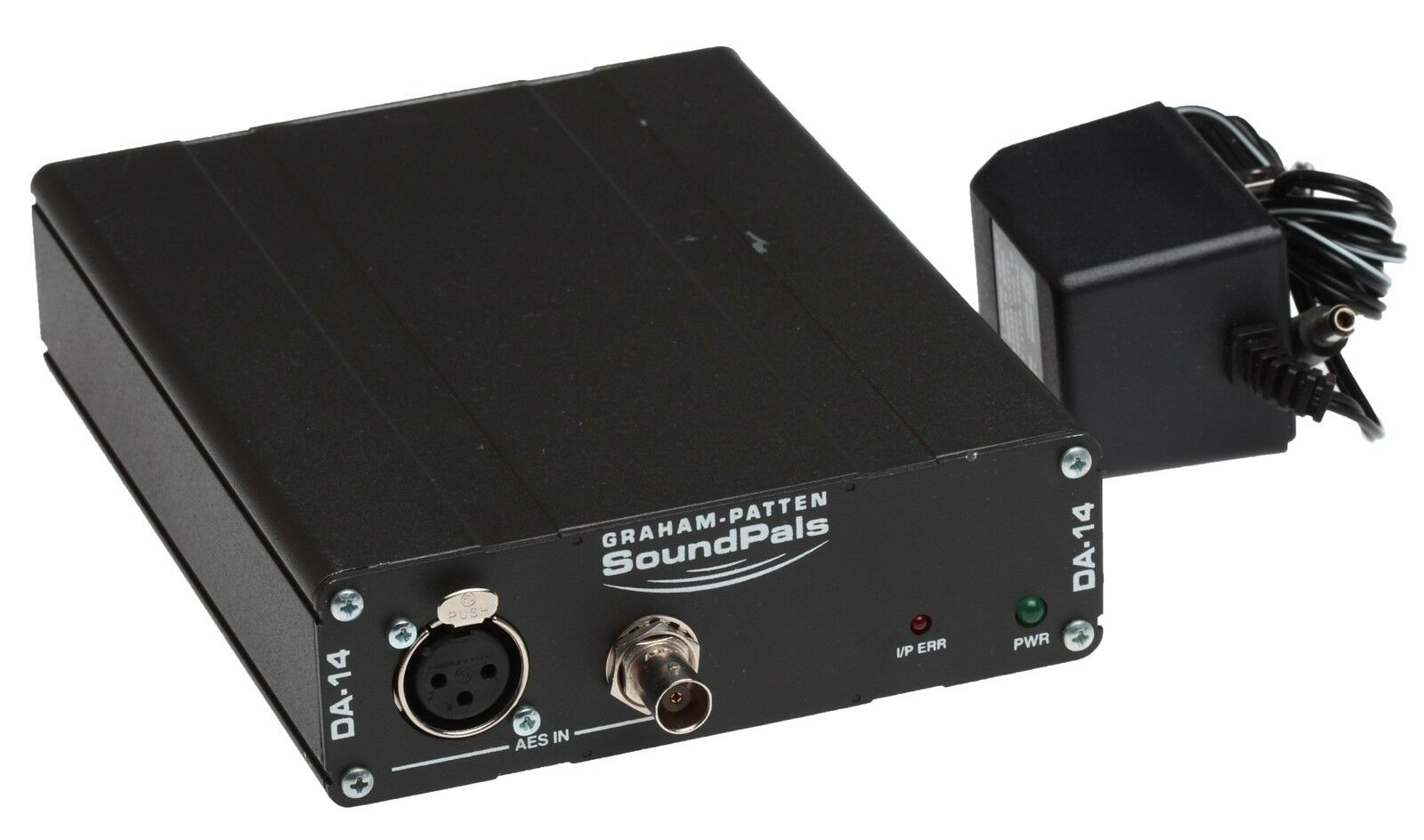 Graham Patten SoundPals DA-14 AES PDIF 1x4 BNC Digital Audio Distribution Amp