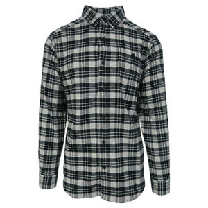 Columbia-Men-039-s-Black-Cream-Cornell-Woods-L-S-Flannel-Retail-60
