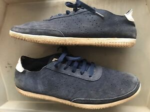 Adidas Original Plimsole 3 Low Navy Blue Suede Lace Up Trainers UK ... aebfac6946