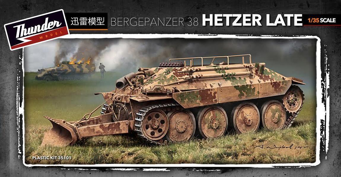 THUNDER MODEL TM35101 German Bergepanzer 38t Hetzer Late in 1 35  | Um Sowohl Die Qualität Der Zähigkeit Und Härte